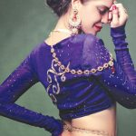 Sadaf Malaterre Latest Ghaghra Choli 2014 Collection by Saima Azhar (4)