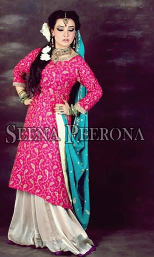 Seena Peerona Exclusive Bridal Dresses Collection 2014 For Women (7)