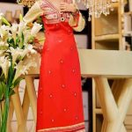 Smart Winter Dresses 2014-2015 By Rujhan Fabrics (1)