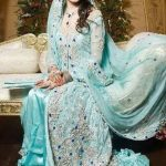 Stylish Full Sleeve Wedding Pakistani Dresses 2014 For Women