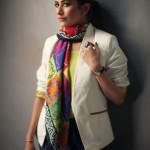 Syra Yousuf Scarves 2014 By Sania Maskatiya and Gul Ahmed (1)