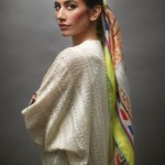 Syra Yousuf Scarves 2014 By Sania Maskatiya and Gul Ahmed