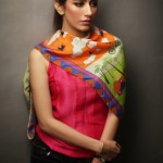 Syra Yousuf Scarves 2014 By Sania Maskatiya and Gul Ahmed (2)
