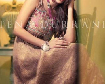 Teena Durrani New Look Bridal Wear Dresses 2014 For Women (3)