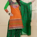 Thread Party Fashion Salwar Suits Design 2014 For Girls (5)