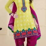 Thread Party Fashion Salwar Suits Design 2014 For Girls (1)