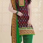 Thread Party Fashion Salwar Suits Design 2014 For Girls (4)