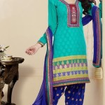 Thread Party Fashion Salwar Suits Design 2014 For Girls (8)