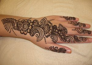 Arabic Mehndi Designs 2014 for women
