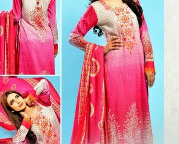 Dawood Gold Lawn Collection Summer Vol-1 2014 For Women (1)