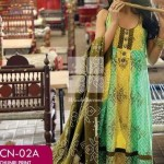 Gul Ahmed Chunri Lawn Summer Dress Collection 2014 For Girls - (1)