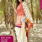 Gul Ahmed Chunri Lawn Summer Dress Collection 2014 For Girls - (3)