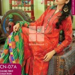 Gul Ahmed Chunri Lawn Summer Dress Collection 2014 For Girls - (4)