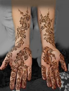 New Arabic Mehndi Designs 2014-2015 For Women (1)