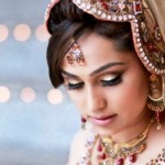 Latest Bridal Hairstyle 2014 For Pakistani & Indian Women (3)