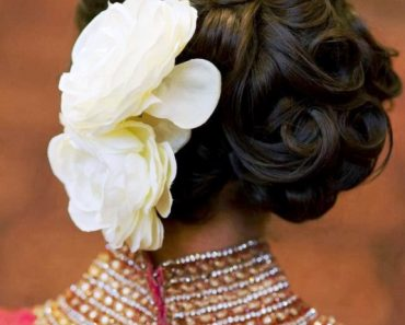 Latest Bridal Hairstyle 2014 For Pakistani & Indian Women (5)