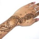 Arabic Mehndi Pattern 2014-2015 For Girls