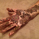 Latest Arabic Mehndi Designs 2014-2015 For Women (2)