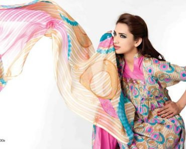 Sitara Sapna Chiffon Lawn Spring Summer Collection 2014 For Women (11)