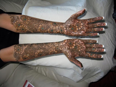 Arabic Mehndi Designs 2014-2015 For Wedding