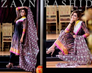 Zayn Rashid Spring Summer Lawn Collection 2014 For Women