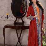 Asim Jofa Embroidered Luxury Lawn for luxurious women 2014