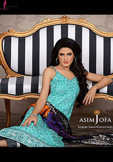 Asim Jofa Lawn for Ladies 2014