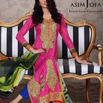 Asim Jofa Latest Luxuries Lawn 2014