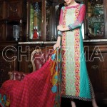 charizma embroidered lawn 2014 for women