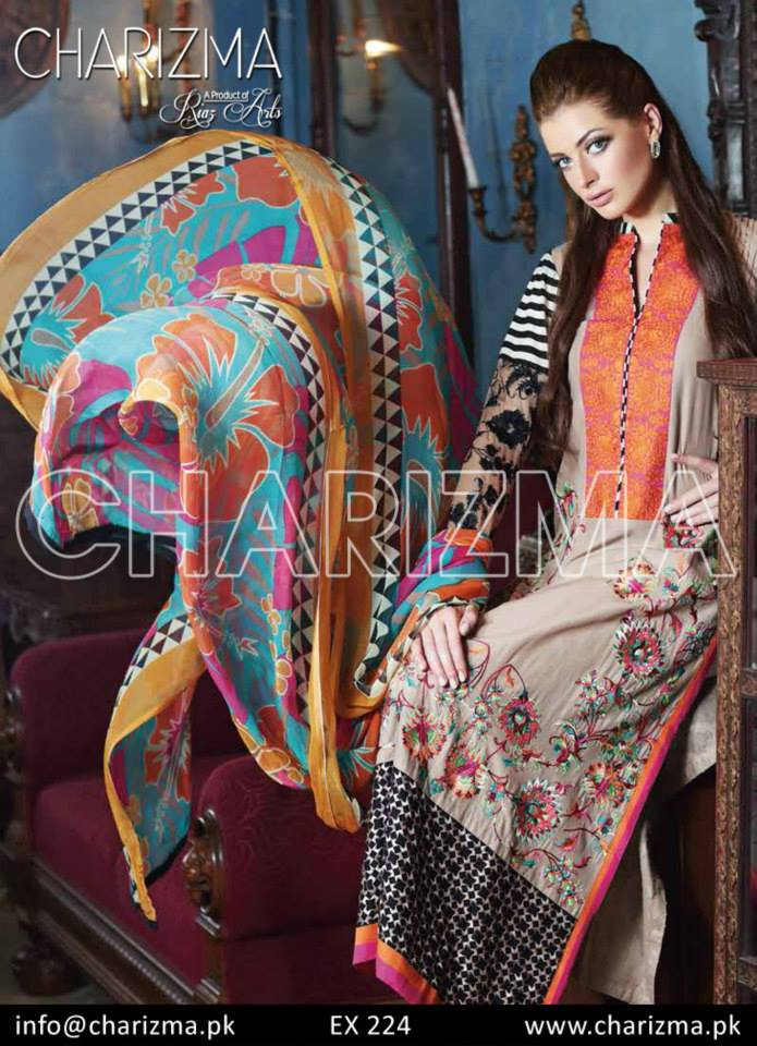 Charizma lawn dresses for women