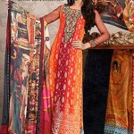 Asim Embroidered collection lawn 2014