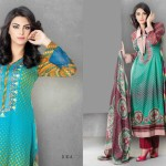 Sitara Jhimil collection lawn for summer 2014