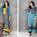 Sitara casual wear jhimil lawn collection 2014