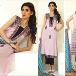 Ghani textile lawn dresses new styles 2014