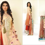 Ghani Textile embroidered lawn 2014