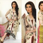Lawn dresses 2014 by Ghani Textile