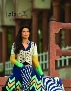 Lala's New Party Wear Embroidered Suits 2015-14 for women (5)