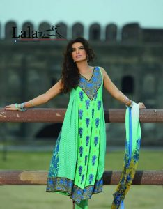 Lala's New Party Wear Embroidered Suits 2015-14 for women (1)