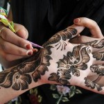 Beautiful But Simple Mehndi Design 2014 for Girls