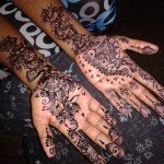 Styish New Mehndi Designs 2014 for Girls (2)