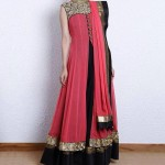 New farak in red and black color collection for girls