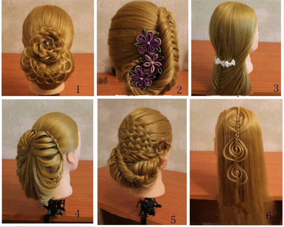 Latest Hair Style For Girl 2014 2015 4 Latest Dresses