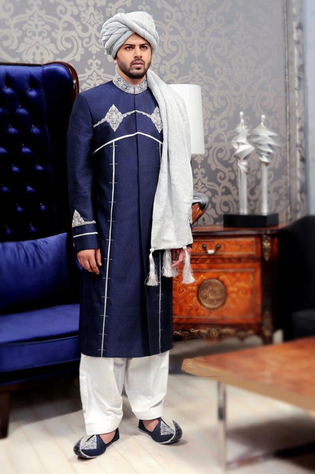 Shairwani style for boys
