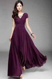 Maxi dresses in different colours