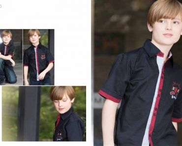 Kids Summer Casual Pant Shirts by Eden Robe (1)