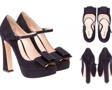 Miu Miu Bow Style Shoes 2015 For Girls (3)