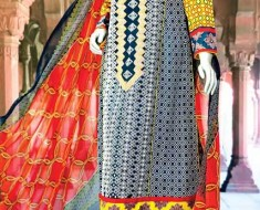 Aamir Liaquat Hussain Anchal Lawn 2015 by Amna Ismail