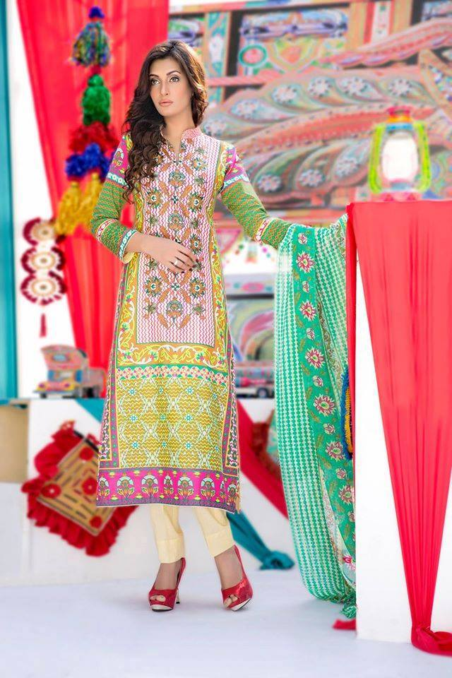 Amna Ismail Embroidered Lawn Collection 2015 With low Prices