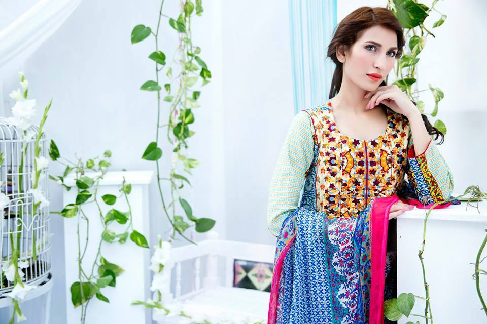 Embroidered Lawn Collection