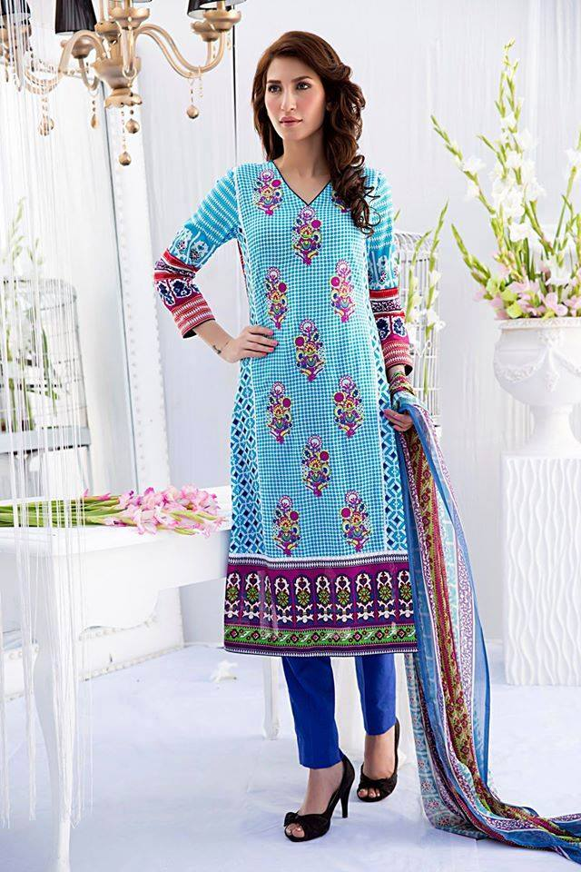 Embroidered Lawn Collection 2015